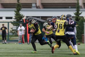 #37 Jesse Matiskainen palauttamassa syötönkatkoa kuva: urheilusuomi.com